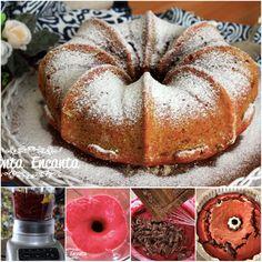 Bolo de Beterraba, com gostas de chocolate, mais saudável e mais gostoso da vida. http://www.montaencanta.com.br/bolo-2/bolo-de-beterraba/