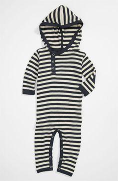 Kate Quinn Organics Hooded Romper (Infant) available at #Nordstrom