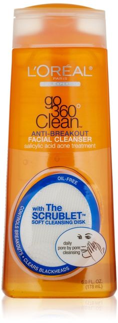 L'Oreal Paris Go 360 Clean Anti-Breakout Facial Cleanser 178 ml To Buy : http://onerx.in/loreal-paris-go-360-clean-anti-breakout-facial-cleanser-178ml.html