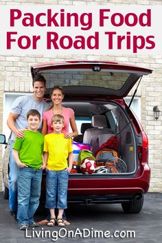 Packing Food for Road Trips –  Easy Ideas To Save Money!