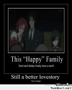 "black butler- the ""happy"" family"