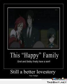 "black butler- the ""happy"" family"