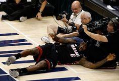 'LeBroning' video: LeBron's flopping inspires mock videos; Heat NBA odds drop