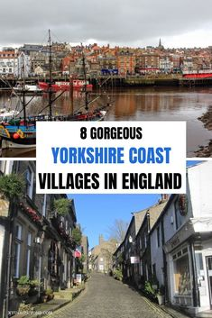 8 Awesome places to visit along the Yorkshire Coast. From Scarborough where a Bronte is buried to Whitby where Bram Stoker was inspired to write Dracula. Scarborough England, Whitby England, Yorkshire England, Yorkshire Dales, Visit Yorkshire, North Yorkshire, Places To Travel, Places To Go, British Travel