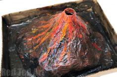 Science Fair Project - create your own Papier Mache Erupting Volcano - a great classic science project for kids. Lots of fun and easy to make.
