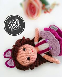 In this article I will share the amigurumi doll lilyum baby free crochet pattern. You can find everything you want about Amigurumi. Crochet Amigurumi Free Patterns, Crochet Toys, Free Crochet, Crochet Doll Tutorial, Crochet Doll Pattern, Fabric Ornaments, Amigurumi Doll, Doll Patterns, Bunt
