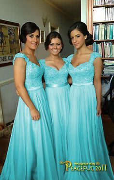 Tiffany Blue Bridesmaid Dresses, Wedding Bridesmaid Dresses, Turquoise Wedding Dresses, Turquoise Bridesmaids, Tiffany Blue Weddings, Girls Dresses, Flower Girl Dresses, Prom Dresses, Turquoise Flower Girl Dress