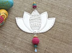Indian Inspired Lotus Flower Hippie Bohemian by FoilingStar, $34.00
