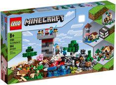 Lego The Crafting Box Lego Minecraft, Minecraft Brick, Construction Minecraft, Lego Lego, Minecraft Ideas, Lego Batman, Minecraft Buildings, Lego Guns, Brick Construction