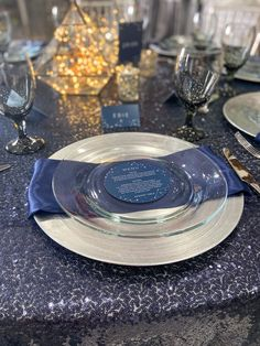 Shoot for the moon, even if you miss you'll land among the stars Silver Charger Plates, Moon, Events, Table Decorations, Stars, Home Decor, The Moon, Decoration Home, Room Decor