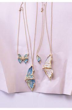 Alexis Bittar 'Lucite Lux® - Jardin Mystère' Butterfly Wing Pendant Necklace | Nordstrom