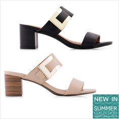 NEW IN: Tamanco Mule Fivela  #shoes #happywalk #mule #trends #summer