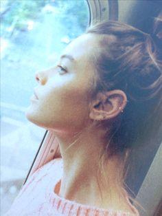 Those ear piercings
