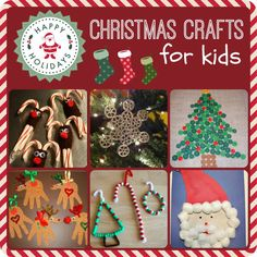 Great Christmas Crafts for Kids - Comeback Momma