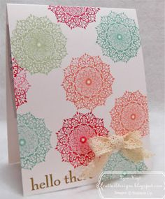 Cattail Designs: SU 10min Fast and Fabulous card for May 22nd.