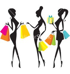 Black Woman Art Idea for Phenomenal Woman Party Theme  Shopping girls vector 128643 - by Zubada on VectorStock®