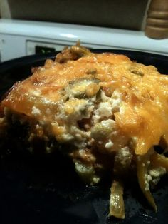 John Wayne casserole Recipe - Yummy this dish is very delicous. Let's make John Wayne casserole in your home! Beef Recipes, Great Recipes, Cooking Recipes, Favorite Recipes, Sauce Recipes, Recipies, Recipe For John Wayne Casserole, Beef Casserole, Casserole Recipes