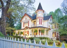 The Oaks Bed and Breakfast in Saluda, North Carolina - has several suites for families!!