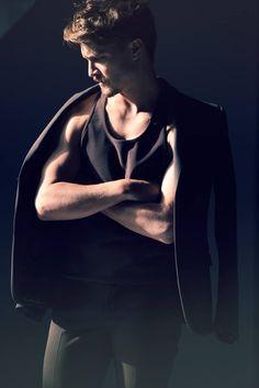 Fifty Shades of Grey cast Luke Grimes For Flaunt magazine Fifty Shades Cast, Fifty Shades Trilogy, Fifty Shades Of Grey, Yellowstone Series, Eric Johnson, Dakota Johnson, Luke Grimes, Handsome Celebrities, Types Of Guys