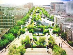 #AsíNo: La escena arquitectónica mexicana sobre Corredor Cultural Chapultepec de la Ciudad de México