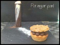 pa mojar pan!: Cilindro de chocolate con mascarpone y tartaleta c...