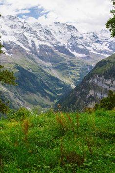 Murren, Switzerland | amazing alpine views