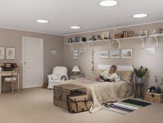 De VELUX daglichtspot brengt sfeervol daglicht in ruimtes die niet direct onder het dak zitten. Meer weten? Kijk op www.velux.nl. #VELUX