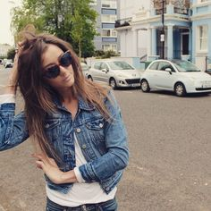 The beautiful Eleanor Calder pictured here in a pair of Taylor Morris Chelsea Catseye sunglasses. As seen on Instagram
