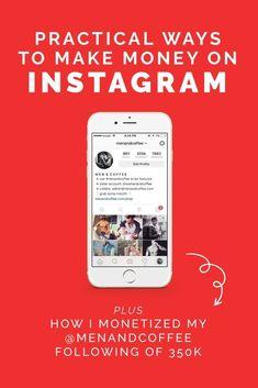 How To Make Money on Instagram - 4 Practical Ways