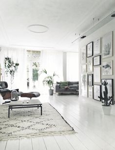 Dutch home filled with plants and artwork