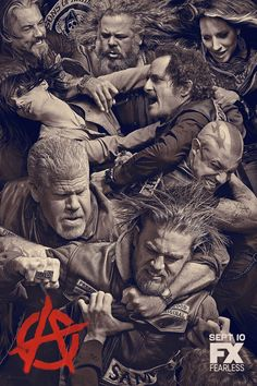 SONS OF ANARCHY Season 6 - New Trailer Rides In! — GeekTyrant
