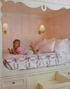 Laine and I used to have beds like these....not as cool though