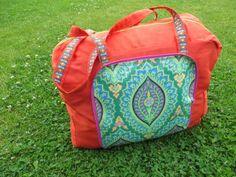 SunShine: Krempeltasche, pattern by farbenmix.de #nähen #sewing #diy #handmade #farbenmix #taschenspieler #taschenspieler2