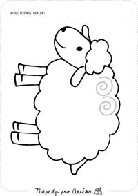 sheep coloring page Animal Crafts For Kids, Art For Kids, Easter Crafts, Preschool Activities, Sheep Crafts, Easter Pictures, Farm Theme, Summer Crafts, Drawing For Kids