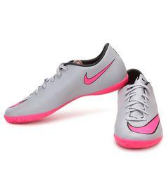 Nike Mercurial Vtory V Gray Sports Shoes