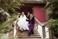 Winter Wonderland - Helena Cox and Paul Charman never had any doubt that their wedding would be smack in the middle of a Whistler winter. Winter Weddings, Whistler, Winter Wonderland, Middle