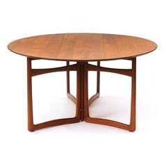 Drop-Leaf Table by Peter Hvidt and Orla Mølgaard-Nielsen 4