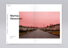 """The word """"tomrom"""" means empty space in norwegian. T_mr_m is a traveling art exhibition in Sandefjord and Larvik, Norway. Book with texts by Maria Veie and Tommy Olsson among others, and lots of fine artwork by Aiko Tezuka, Mattias Härenstam and other co… Web Design, Font Design, Book Design Layout, Print Layout, Interaction Design, Editorial Layout, Editorial Design, Layout Inspiration, Graphic Design Inspiration"""