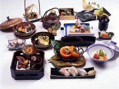 白波 懐石料理十五品