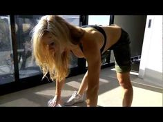 High intensity, fat burning, back, abs and biceps home workout