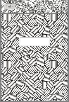 New art journal printables coloring sheets Ideas Mandala Coloring, Colouring Pages, Adult Coloring Pages, Coloring Sheets, Coloring Books, Diy Notebook, Notebook Covers, Binder Covers, Good Notes
