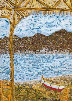 Painter Artist, City Photo, Photo, Painting, Greek Art, Art, Aerial
