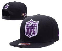 05122c31ada Men s Baltimore Ravens New Era NFL Team Shield Logo Embroidery 9FIFTY  Snapback Cap - Black Shield
