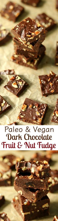 paleo and vegan dark