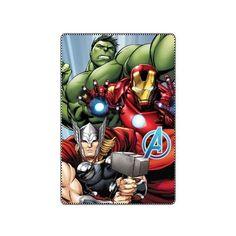 Plaid Avengers gris réglisse  9,90 €