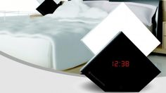The Aurora Wake-Up Light is an alarm clock with an illuminated section that actually rises like the sun.