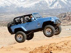 129 0808 09 Z+concept Trucks Jeep Wrangler Tj - Photo 17956182 - Jumpin' Jehosophat! Old Jeep, Jeep 4x4, Jeep Truck, 4x4 Trucks, My Dream Car, Dream Cars, Blue Jeep Wrangler, Cool Jeeps, Car Goals