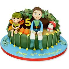 Tree Fu Tom and Friends Cake
