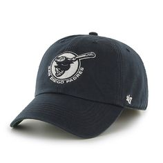 380983ba5da San Diego Padres 47 Brand Franchise Alternate Logo Navy Padres Script Hat  Cap