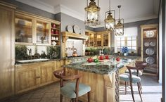 rustic kitchen designs pictures | Traditional Kitchen Design Ideas